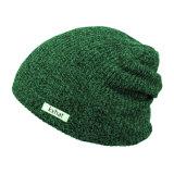 Sombrero Slouchy colorido de encargo de la gorrita tejida de Flexfit con la escritura de la etiqueta tejida
