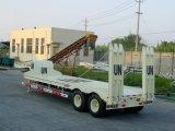 반 60 톤 콘테이너 강선전도 6을%s 가진 낮은 침대 트레일러