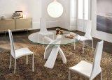 Ontruim het Gehard glas van de Vlotter voor de Moderne Eettafel van de Bovenkant van de Lijst van het Glas
