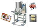 최신 판매 햄버거 고기 파이 물고기 덩어리 Preduster 가루로 만들 기계