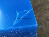 UV acrylique clair de feuille du matériau 3mm de Vierge de panneau d'affichage protégé
