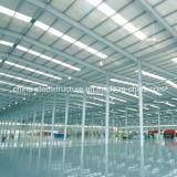 Taller de la estructura de acero de la venta del conjunto completo y construcción calientes del almacén