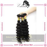 5A Peruvian Deep Wave Virgin Hair, 100%년 Human Hair Extension