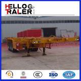 3 as de Aanhangwagen van het Skelet van de Container van 40 Ton 40hq