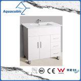 Mobília pintada branca do banheiro do estilo quente de Austrália do Sell (AC-8090B)