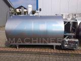 2000L sanitair aan Horizontale het Koelen van de Melk 5000L Tank (ace-znlg-F8)
