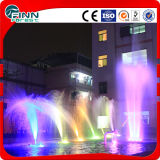 Uso ao ar livre 3 camadas LED Light Musical Water Fountain