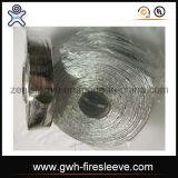 Luva reflexiva do Split do calor revestido de alumínio da fibra de vidro com fechamento adesivo