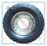4.00-8 rotella di gomma solida di alto caricamento per il rimorchio della base dell'aeroporto