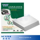 Papel de transferencia transparente del reparto del agua de la inyección de tinta A4