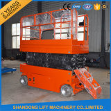 250kgs Durable Structure Selbst-Propelled Scissor Lift Elevator