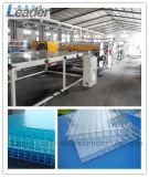 La chaîne de production la plus neuve de feuille de toiture de feuille de cavité de polycarbonate