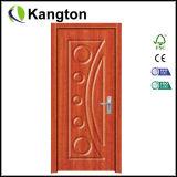 Porte en bois intérieure de PVC de prix bas élevé de Qualtiy (porte de PVC)