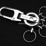 Corrente chave personalizada do gancho da lagosta do metal