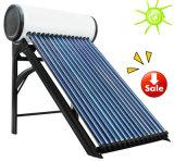 Calefator de água solar evacuado da câmara de ar com o tanque de armazenamento pressurizado