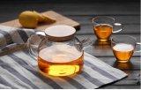 Vajilla de la tetera del vidrio de Borosilicate de la resistencia térmica alto para el comerciante
