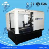 Taglio di CNC di alta qualità che intaglia la forma metallica che fa macchina