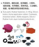 Silikon-Gummi-Vakuumformteil-Vulkanisierung maschinell hergestellt in China