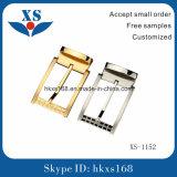 Hebilla plateada oro 316L de la alta calidad 18k