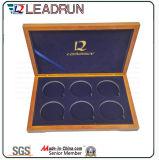 バッジのコレクションのケースメダルギフトの記念品の記念する硬貨ボックスエヴァの挿入パックボックス(D28)