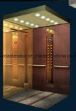 China Top Passenger Elevator mit Hairline Edelstahl (JQ-N014)