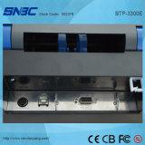 (BTP-3300E) 106mm USB Serial 병렬 이더네트 WLAN는 열 이동 레이블 Barcode 인쇄 기계를 지시한다