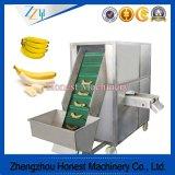 電気緑のバナナの皮機械