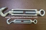 Tipo galvanizado marinho tensor do aço de carbono da ferragem da corda de fio de DIN1480
