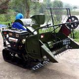 Combine della macchina del Reaper del riso e del frumento con il trattore