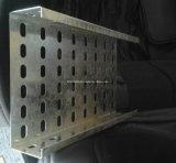Il vano per cavi della maglia del filo di acciaio ha perforato il tipo rullo della scaletta del vano per cavi che forma la macchina