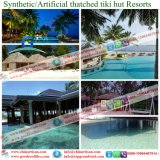 Роскошная вилла тропическая/плитки крыши Thatch типа острова синтетические для курортов Мальдивов Бали