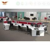 La forêt de FSC a certifié de doubles postes de travail de centre d'appels de bureau de Tableau de photos populaires de modèle