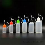 frascos de aço do conta-gotas da ponta da agulha do LDPE 5-100ml em cores misturadas