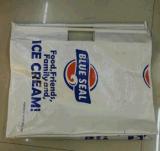 Le plastique traite les sacs tissés par pp avec le laminage