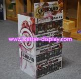 Coffret d'étalage acrylique en gros de cigarette avec le logo Btr-D3025