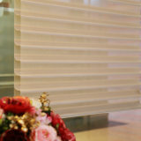 Tela 100% das cortinas de rolo do Shangri-La do escurecimento do poliéster de SKD