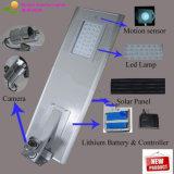 Rue extérieure actionnée solaire Ligths de Motionse de lampe à vendre