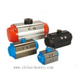 Series Rack와 Pinion Type Pneumatic Actuator에서
