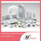 Super Power Customized N35 Zinc ring permanent Neodymium /NdFeB Magnet in China