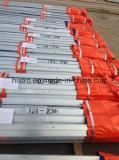 tour en acier galvanisée par 110kv de transport d'énergie de cornière