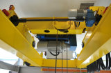 Кран двойного прогона Qd надземный с машинным оборудованием электрической лебедки поднимаясь