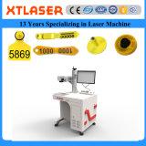 Macchina della marcatura del laser della fibra della modifica di orecchio del blocco per grafici, dei monili e dell'animale del monocolo di rapporto di prezzi di rendimento elevato