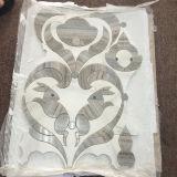 아름다운 보는 백색 토끼 패턴 Waterjet 모자이크 타일