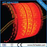 Tratamiento térmico posterior a la soldadura del calentador del cojín de cerámica del elemento de calefacción de cerámica Flexible