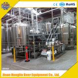 Mikrobrauerei-Pflanze 500L, 700L, 1000L, Bier-Brauerei-Gerät des Stapel-1500L eins