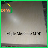 18mm MDF van uitstekende kwaliteit van de Groef van de Melamine voor Decoratie