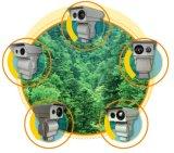 6kmの森林火災アラーム機密保護熱IPのカメラ