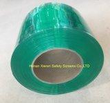 帯電防止緑か明確または黄色いPVCストリップ
