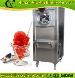 Crême glacée et sorbet de crême glacée de gelato dur de machine