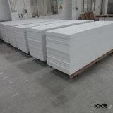卸し売りカウンタートップの平板12mmの厚く白い固体表面